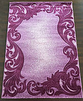 Сиреневый прямоугольный ковер, фото 1