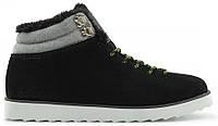 Мужские зимние кроссовки Adidas NEO Rugged Адидас с мехом черные