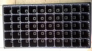 Кассета для рассады  50 ячейки глубина 5 см