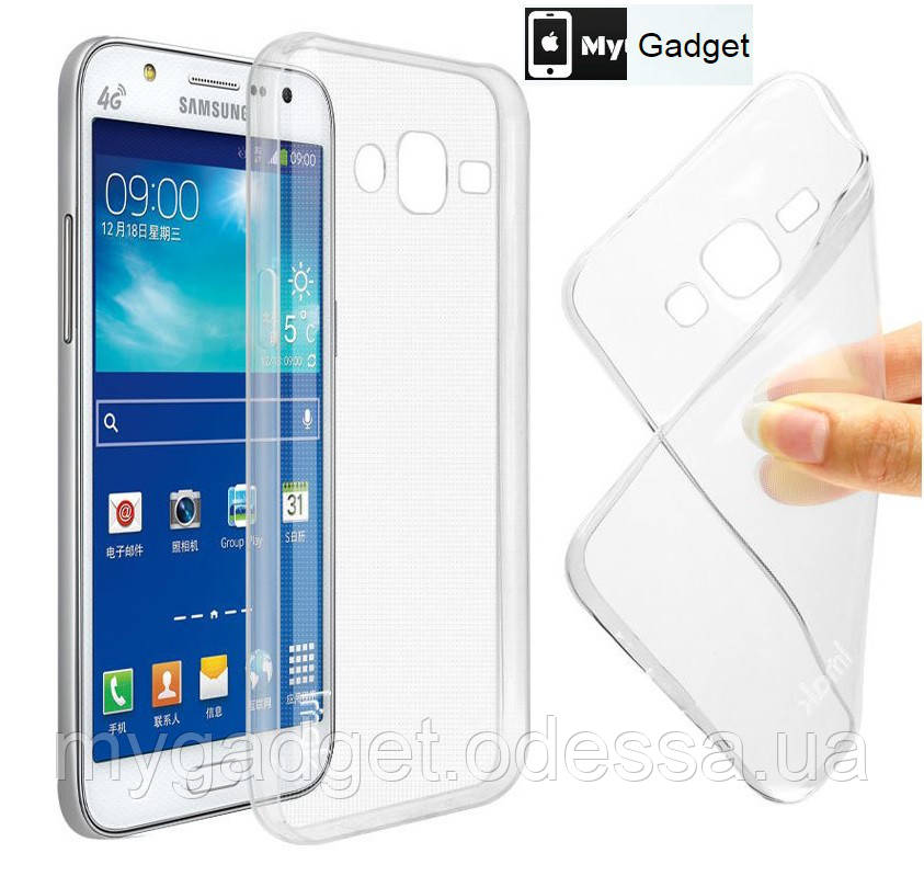 Cиликоновый чехол на Samsung Galaxy J7