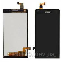 Дисплей с сенсорным экраном Huawei G6 ASCEND черный