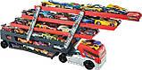 Грузовик-автовоз красный Хот Вилс, Hot Wheels® Mega Hauler™ (CKC09), фото 4