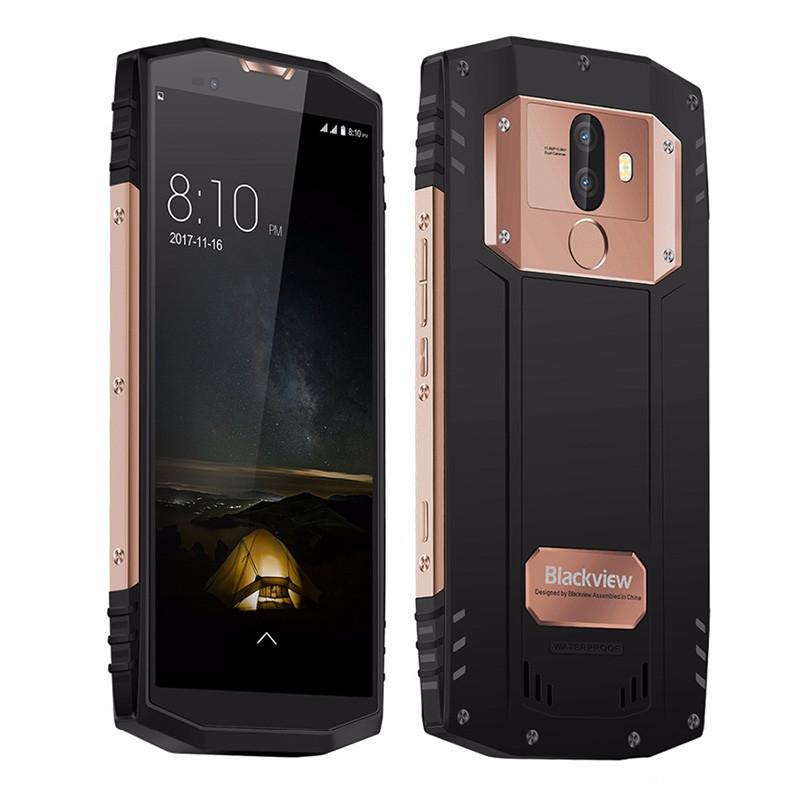 Смартфон Blackview BV9000 Pro Gold, 6/128Gb, 13+5/8Мп, 4180mAh, 2sim, экран 5.7'' IPS, IP68, 4G, Android 7.1