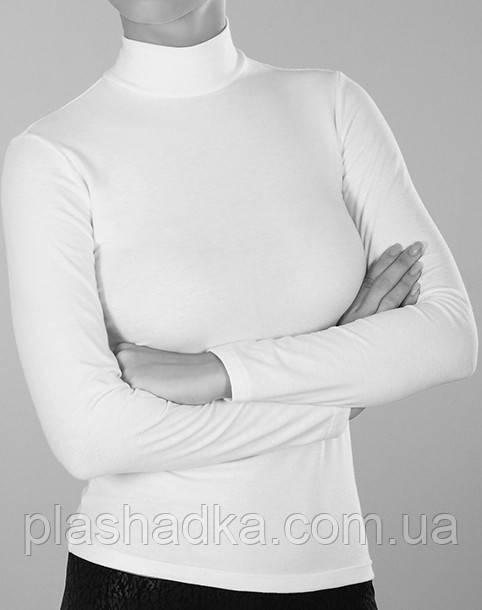 Гольф женский хлопковый, цвет белый