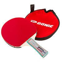 Ракетка в чехле для настольного тенниса Donic 820