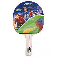 Теннисная ракетка прорезиненная Stiga Twist (Action)