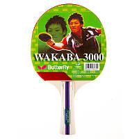 Ракетка для игры в настольный теннис Batterfly Wakaba 3000, фото 1
