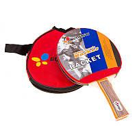 Теннисная ракетка с резиновой накладкой Batterfly 820, фото 1