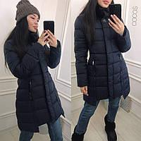Пальто с брошкой
