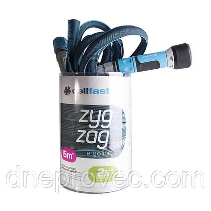 Шланг для поливу розтягується ZygZag 7,5-15 м, фото 2