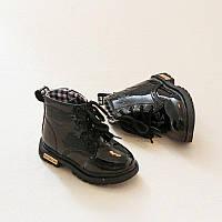 40cef50b Модные детские лакированные ботинки черные Киев: продажа, цена в ...