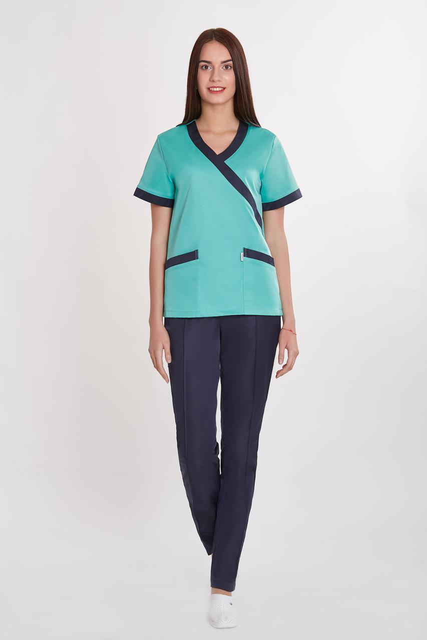 Жіночий медичний костюм Українка - Інтернет-магазин медичного одягу