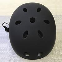 Защитный детский шлем Black-mat