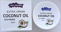 Кокосовое масло для омоложения кожи лица и тела Extra Virgin Coconut Oil