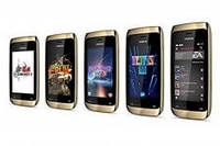 Пленка MyScreen Nokia Asha 308 глянцевая