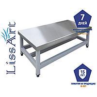 Подтоварник из нержавеющей стали (Кухонная мебель LISSART)