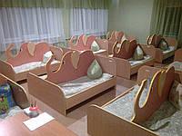 Детская двойная кровать Слоник