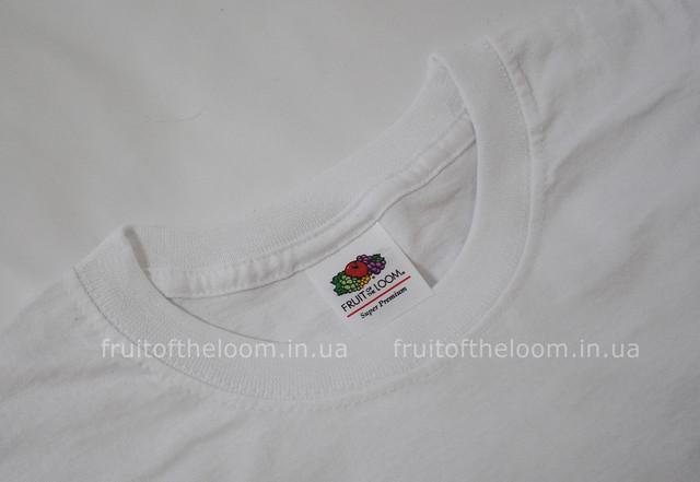Белая мужская футболка супер премиум