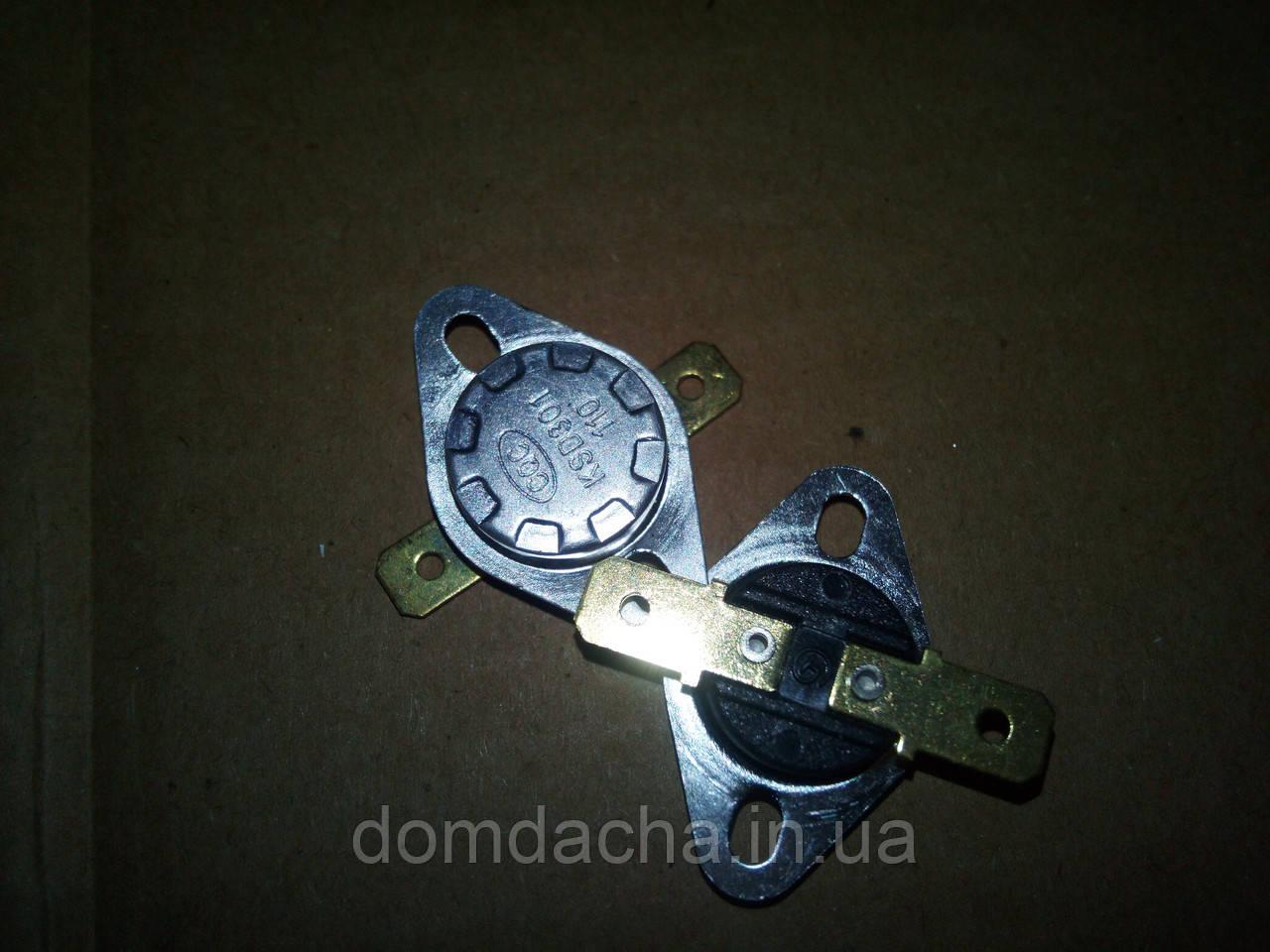 Термостат биметаллический нормально-замкнутый KSD301 10А, 60°C