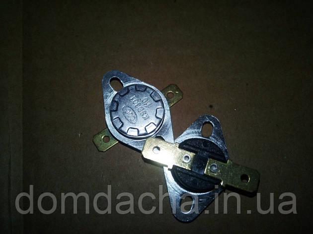 Термостат биметаллический нормально-замкнутый KSD301 10А, 60°C, фото 2