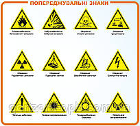 Попереджувальні знаки безпеки