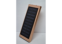 Power Bank Solar 10000mAh LED фонарь солнечная панель, фото 1