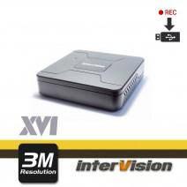 4-канальный 3G-SDI видеорегистратор InterVision XVR-i41USB