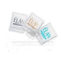 "Краска для бровей Elan комплект ""02 dark brown"" (3 саше)"