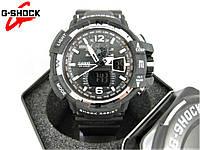 Часы Casio G-Shock GW-A1100 black/silver. Реплика ТОП качества!, фото 1