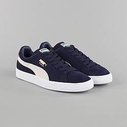 Мужские спортивные кроссовки Puma Suede синий
