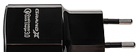 Быстрое зарядное устройство Grand-X CH-550B Quickcharge QС3.0 3.6V-6.5V 3A, 6.5V-9V 2A, 9V-12V 1.5A USB