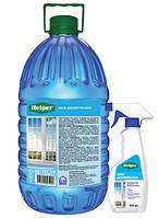 """Средство для мытья стекол и зеркал """"HELPER"""", 5 л"""