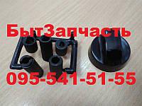Ручка плиты универсальная (черная) + 4 переходника для плиты