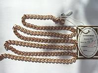Золотая цепь 585 пробы, плетение лав, 55 см