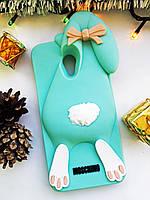 Силиконовый чехол Moschino Violetta Rabbit Meizu M5s, Зайчик ментоловый