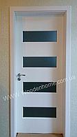 Двери межкомнатные из натурального дерева (сосна)  2000х700, Белый