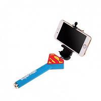 Селфи-монопод Супермен проводной