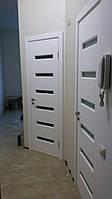 Двери межкомнатные из натурального дерева (сосна)  2000х600, Белый