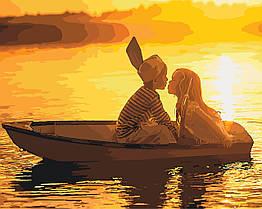 Живопись по номерам Первая любовь (KH2322) Идейка 40 х 50 см
