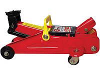 Домкрат гидравлический подкатной 2 т, в чемодане, высота подъема 135-345 мм INTERTOOL GT0103