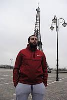 Мужская куртка анорак красная