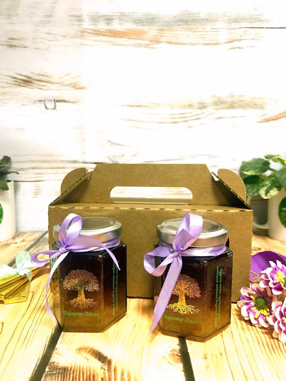 Подарочный набор джем в индивидуальной упаковке