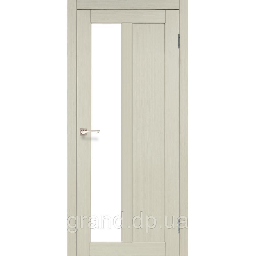 Двери межкомнатные Корфад TORINO Модель:TR-03 дуб беленый c матовым стеклом