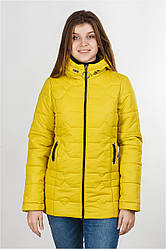 Куртка демисезонная Фрида желтый, 42