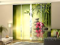 Панельная штора Листья бамбука