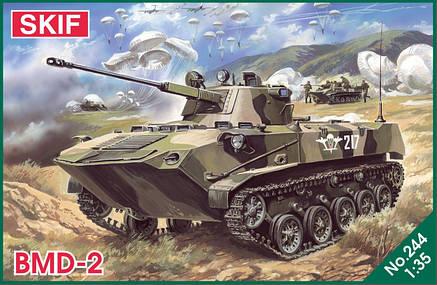 Боевая Машина Десанта БМД-2. Сборная модель в масштабе 1/35. SKIF MK244, фото 2