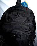 Мужской черный спортивный рюкзак 33*47 см, фото 4