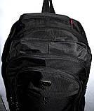 Мужской черный спортивный рюкзак 32*52 см, фото 4