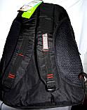 Мужской черный спортивный рюкзак 33*50 см, фото 3