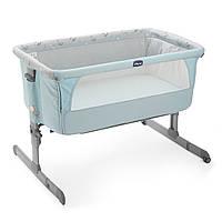 Chicco Детская кроватка Next 2 Me sky